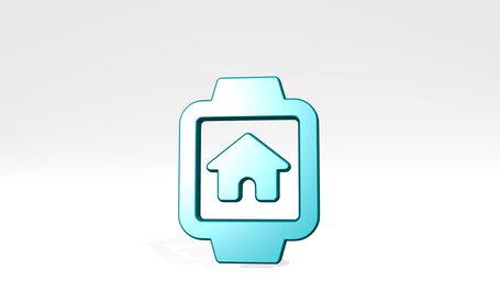 smart watch square house alternate