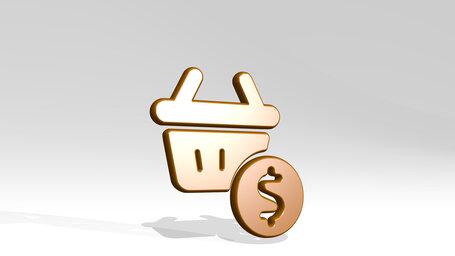 shopping basket cash