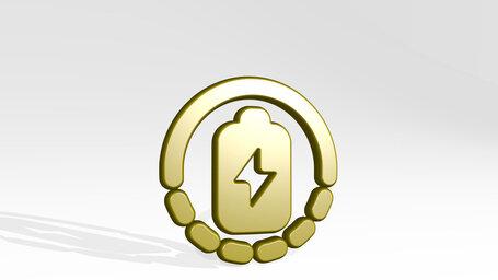 renewable energy battery charge