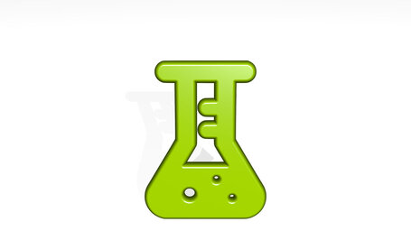 lab flask experiment
