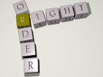 right order