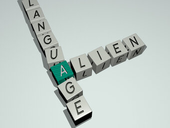 Alien language