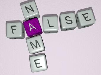 false name
