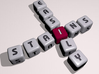 stains easily