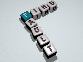 find fault