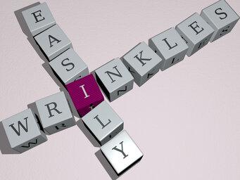 wrinkles easily