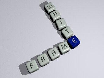 frame white