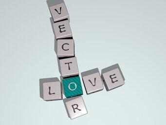 love vector