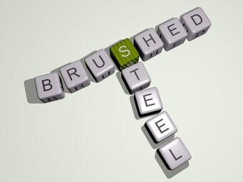 brushed steel