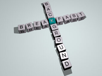 breakfast background