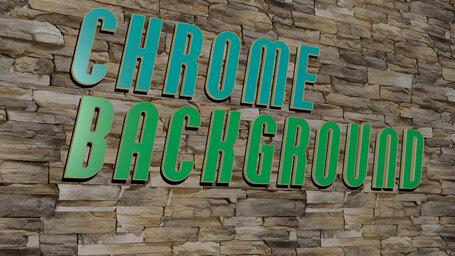 chrome background