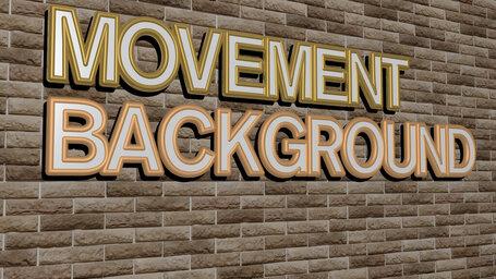 movement background