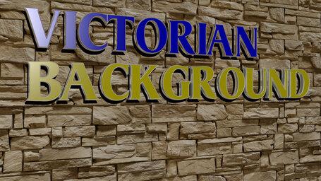 victorian background