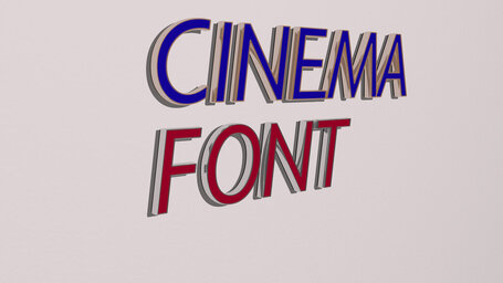 cinema font