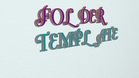 folder template