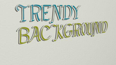 trendy background