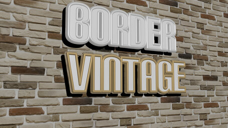 border vintage