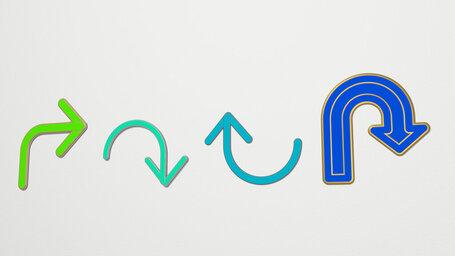 curve arrow