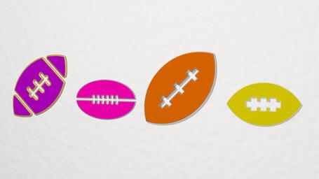 american football ball
