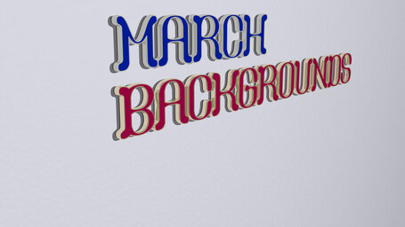 march backgrounds