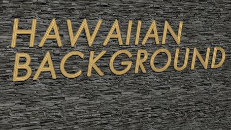 hawaiian background