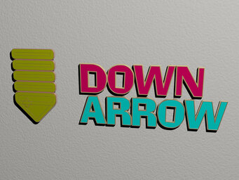 down arrow
