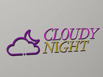 cloudy night