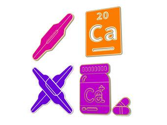 How does prednisone decrease calcium?