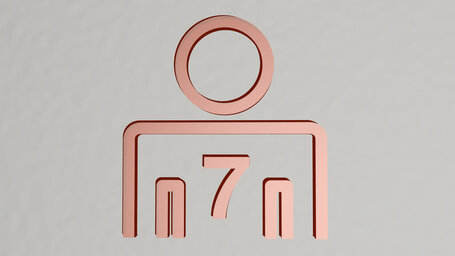 person number 7 or seven persons