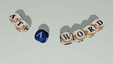 at a word