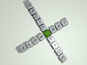 Alphabet recitation