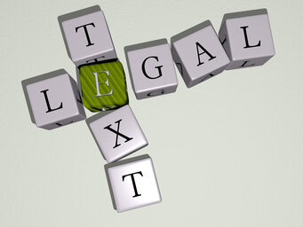 Legal text