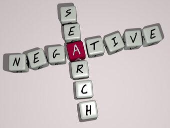 Negative search
