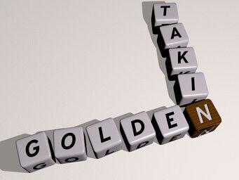 Golden takin