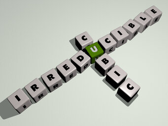 Irreducible cubic