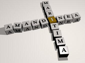 Amandinea maritima