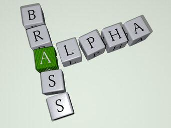 Alpha brass