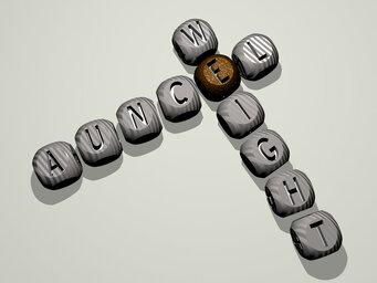 Auncel weight