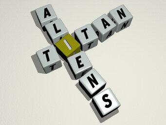 Titan aliens