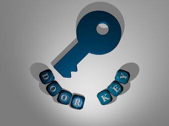 door key