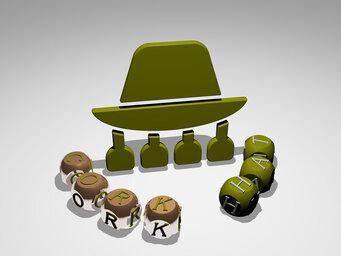 cork hat