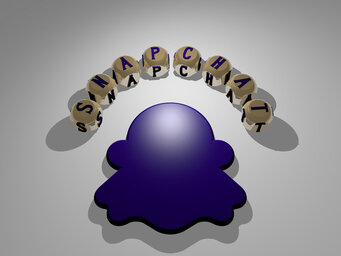 Who has the highest Snapchat score?