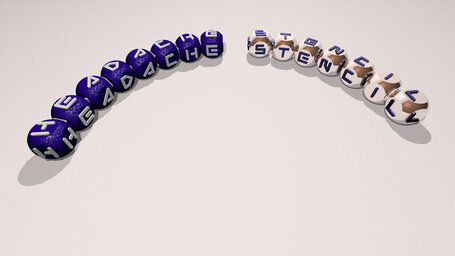 Headache Stencil