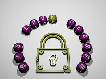 big lock closed