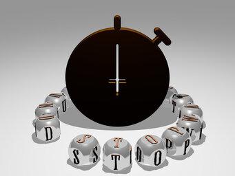 round stopwatch