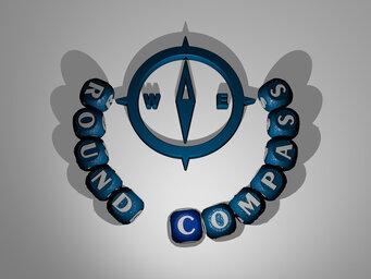 round compass