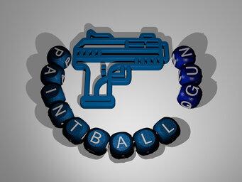 paintball gun