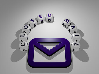 closed mail