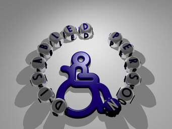 disabled person
