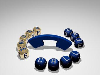 phone call end